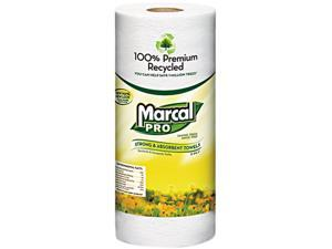 MAC 630 100% Premium Recycled Perforated Towels, 2-Ply, 11x9, White, 70/Roll