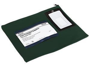 PM Company 04648 Flat Dark Green Transit Sack, 14w x 11h