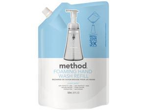 Method 00662 Foaming Hand Wash Refill, 28 oz. Pouch, Sweet Water