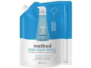 Method 01315EA Dish Soap Refill, Sea Minerals, 36 oz. Pouch