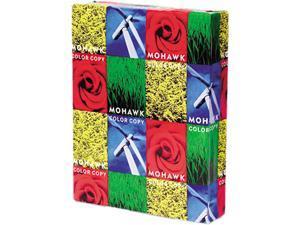 Mohawk 12-203 Color Copy Paper, 98 Brightness, 28lb, 8-1/2 x 11, Bright White, 500 Sheets/Ream