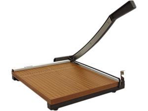 """X-ACTO 26615, Square Commercial Grade Wood Base Guillotine Trimmer, 15 Sheets, 15"""" x 15"""""""