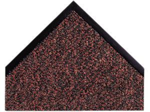 """Crown                                    Dust-Star Microfiber Wiper Mat, 48"""" x 72"""", Red"""