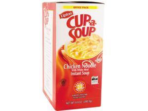 Lipton 03487 Cup-a-Soup, Chicken Noodle, Single Serving, 22/Pack