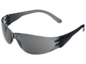 Crews CL112 Checklite Safety Glasses, Gray Lens