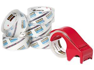 """Scotch 3850-6DP3 3850 Heavy Duty Packaging Tape, 1.88"""" x 54.6 yards, Clear, 6/Pack"""