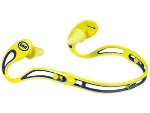 E·A·R 322-2000 Swerve Banded Hearing Protector, Corded, Yellow