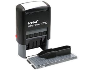 Trodat 5916 Self-Inking Do It Yourself Message Dater, 3/4 x 1 7/8
