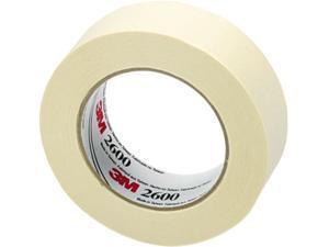"Highland 260036A Masking Tape, 1-1/2"" x 60 yards, Natural"