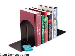 STEELMASTER by MMF Industries 241017104 Fashion Bookends, 9 x 5 x 7, Black, Pair