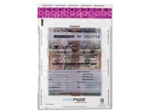 MMF Industries 236210320 FREEZFraud Bags, 9 x 12, Clear, 100/Box