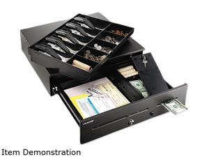 MMF Industries 2251060GT04 High-Security Cash Drawer, 18 x 16 3/4 x 4 3/4, Black
