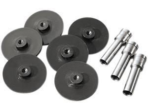 Swingline 74857 Replacement Head Punch Set, Three Heads/Five Discs, 9/32 Diameter Hole, Gray
