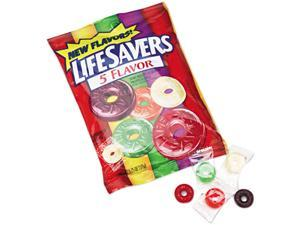 LifeSavers 88501 Hard Candy, Five Classic Flavors, Individually Wrapped, 6.25oz Bag