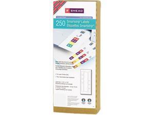 Smead 66004 Smartstrip Refill Label Kit, 250 Label Forms/Pack, Laser, 250/Pack