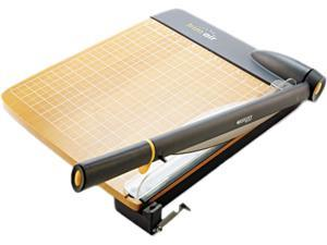 Westcott 15106 TrimAir Guillotine Wood Trimmer w/Microban Protection, 15 sheets, Wood, 22 x 14
