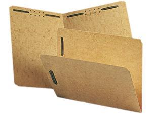 Smead 14813 Kraft K Style Fastener Folders, Straight Cut, Top Tab, Letter, Brown, 50/Box