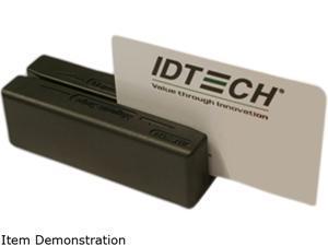 ID TECH IDMB-335133B MiniMag II Card Reader (Black) – USB HID, Track 1, 2, 3