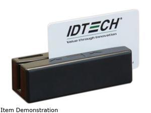 ID Tech IDRE-334133ABE SecureMag Encrypted Intelligent MagStripe Swipe Reader