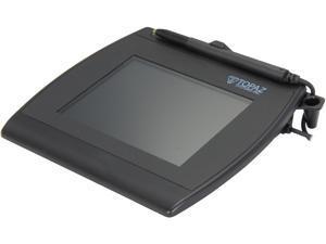 Topaz SigGem Color 5.7 T-LBK57GC Series Dual Serial/USB Backlit T-LBK57GC-BHSB-R Signature Capture Pad