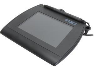 Topaz SignatureGem LCD 4x5 T-LBK766SE Series Dual Serial/USB (High Speed) BackLit T-LBK766SE-BHSB-R Signature Capture Pad