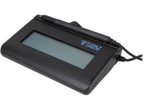Topaz SignatureGem LCD 1x5 T-LBK462 Series Serial BackLit T-LBK462-B-R Signature Capture Pad
