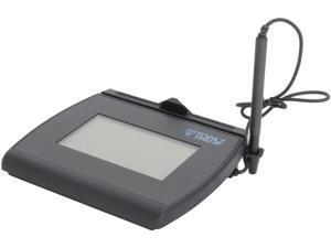 Topaz T-LBK755-BHSB-R SignatureGem LCD 4x3 T-LBK755 Series BackLit Signature Capture Pad - Dual Serial/USB Interface