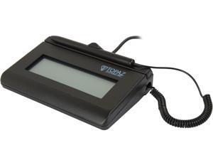 Topaz T-LBK460 Series SigLite LCD 1x5 Signature Capture Pad, Virtual Serial via USB, Backlit - T-LBK460-BSB-R