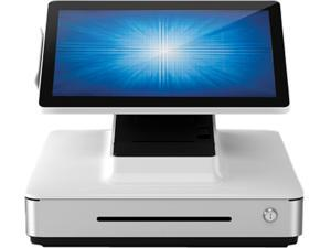 """Elo E833933 PayPoint Plus for Windows POS System with 15"""" PCAP Touch Display, Barcode Scanner, Receipt Printer, MSR, Cash Drawer, Win 10 - White"""