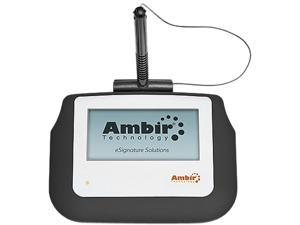 "Ambir nSign SP110 (SP110-S2) Electronic Signature Capture Pad, 4"" Display, USB"