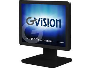 """Gvision D15,15"""" POS LED Monitor with Projected Capacitive Touch, Black - D15ZX-AV-45P0"""
