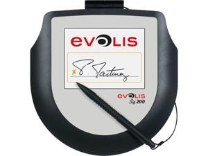 Evolis Sig200 Ergonomic Signature Capture Pad, Color LCD, USB - ST-CE1075-2-UEVL