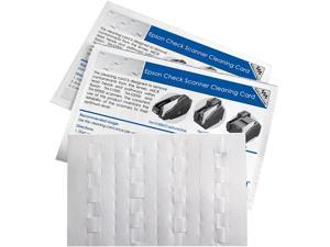 KICTeam EPSCS1B15WS Epson Check Scan Waffle Clean Cards - 15CT