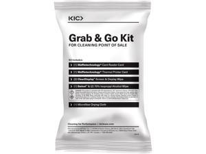 KICTeam KW3KPOS2MC1 Grab & Go - 25CT Point Of Sale Clean Kit