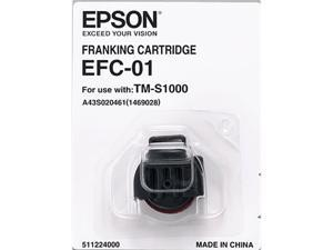 EPSON A43S020461 Franking Cartridge EFC-01 for Capture One Black