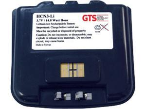 GTS HCN3-LI Direct Replacement Battery for Honeywell CN3 & CN4 Series Scanners (OEM Equivalent# 318-016-002)