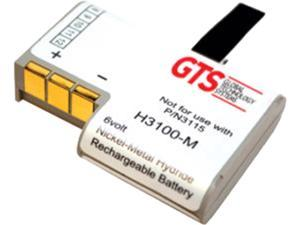 GTS H3100-M Direct Replacement Battery for Zebra PDT3100 Series Scanners (OEM Equivalent# KT-12596-04, KT-12596-01, 21-36897-02)
