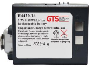 GTS H4420-LI direct replament battery for Datalogic Falcon 4420 series scanners (OEM Equivalent# BTRY-11-0023)