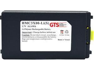 GTS HMC3X00-LI(S) Direct Replacement Battery for Zebra MC3000 / MC31XX Series Scanners (OEM Equivalent# BTRY-MC3XKABOE