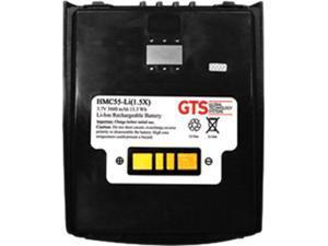 GTS HMC55-LI(1.5X) direct replament battery for Zebra MC55a0 / MC5590 / MC55 / MC67 / MC65 / MC659B series scanners (OEM Equivalent# BTRY-MC55EAB02, BTRY-MC65EAB02, 82-111094-0