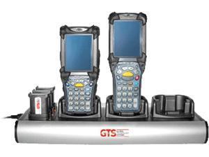GTS HCH-9033-CHG direct replament charger for Zebra MC9000/91XX/92XX (OEM Equivalent# *GTS Exclusive* (3 Cradles + 3 Batteries))
