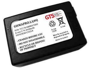 GTS GHWAPRO-Li(44) Direct Replacement Battery for Honeywell Workabout Pro Handheld / Teklogix 7527C-G2eklogix 7527C-G2 Series Scanners (OEM Equivalent# BTRY-1050192-002 / WA3010)