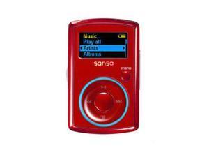 "SanDisk Sansa Clip 1.0"" Red 2GB MP3 Player"