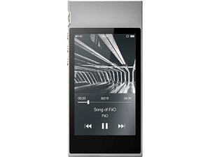 FiiO M7 High Resolution Lossless Music Player with aptX, aptX HD, LDAC HiFi Bluetooth, FM Radio and Full Touch Screen (Silver)