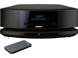 Bose 738031-7710 Wave SoundTouch Music System IV, works with Alexa, Espresso Black