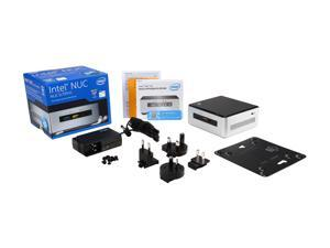 Intel NUC (Next Unit of Computing) BOXNUC5I7RYH Aluminum and Plastic Black NUC Kit (Rock Canyon)
