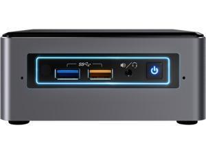 Intel NUC (Next Unit of Computing) BOXNUC7I5BNH Black Barebone Systems - Mini / Booksize