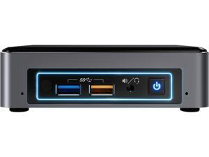 Intel NUC (Next Unit of Computing) BOXNUC7I5BNK Black Barebone Systems - Mini / Booksize