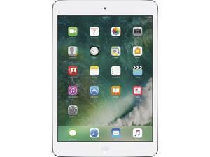 """Apple iPad Mini 2 MF075LL/A-SW Apple A7 1.30 GHz 1 GB Memory 16 GB Flash Storage 7.9"""" 2048 x 1536 Tablet PC (Wi-Fi + Cellular) iOS Silver"""