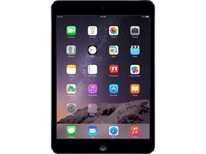 "Apple iPad Mini 2 MF075LL/A-SB Apple A7 1.30 GHz 1 GB Memory 16 GB Flash Storage 7.9"" 2048 x 1536 Tablet PC (Wi-Fi + Cellular) iOS Space Gray"
